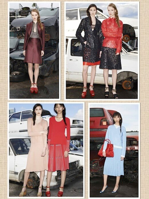 Photos taken from style.com