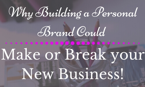 Building a Personal Brand, Personal Branding