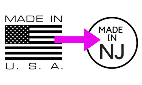 Made in USA... Actually it's Made in New Jersey! Fashion Consultant Christine DeAngelo Daal