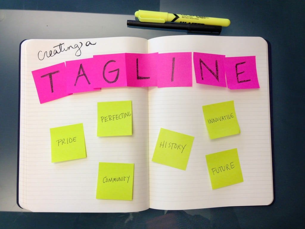 How To Create The Perfect Tagline For Your Business