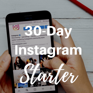 30 day instagram starter kit
