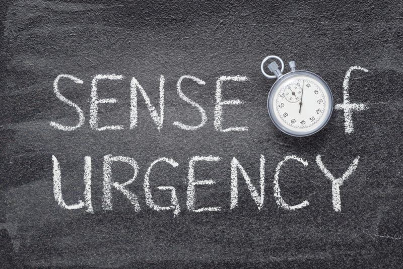 Why You Need A Sense Of Urgency
