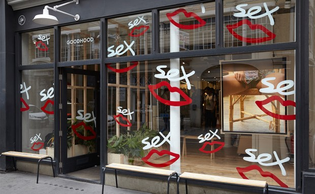 Goodhood shop front: image courtesy of ben