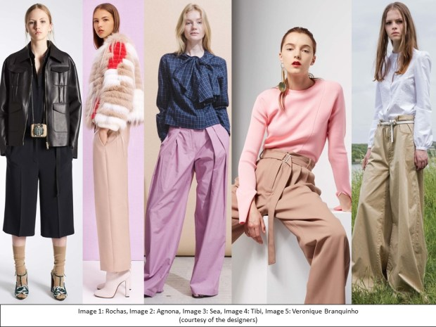 Resort 2017 inspiration: key trouser shapes