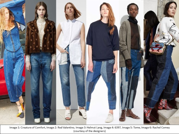 Resort 2017 inspiration: new denim trouser