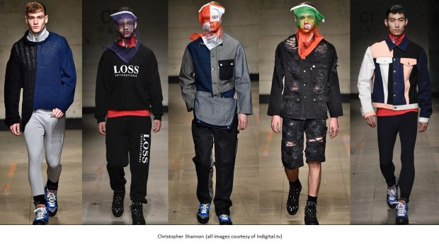 London Fashion Week Men's AW17 Trends: Christopher Shannon