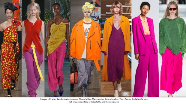 SS18 Runway Overviews - Colour