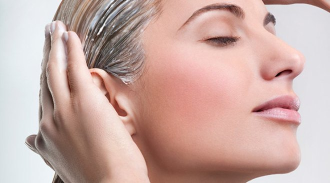 Как смыть хну с волос