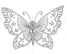 Different kinds of crochet butterfly pattern