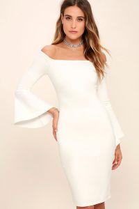 Sign of purity: white dresses for women  fashionarrow.com