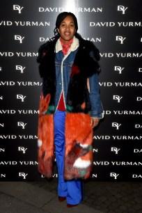 MILAN, ITALY - JANUARY 14: Tamu McPherson attends 'David Yurman - Where Design Meets Art' during Milan Men's Fashion Week Fall/Winter 2017/18 on January 14, 2017 in Milan, Italy. (Photo by Stefania D'Alessandro/Getty Images for David Yurman) *** Local Caption *** Tamu McPherson