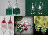 Jewelry making ideas for Christmas | Fashion Beads and ...