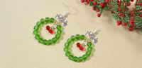 DIY Hoop Earrings for Christmas | Fashion Beads and ...