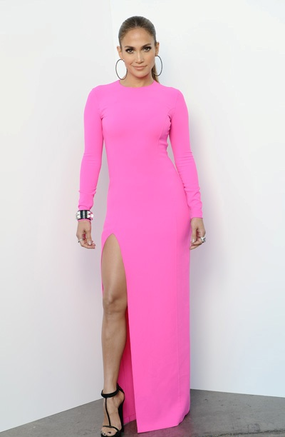 jennifer lopez michael kors dress