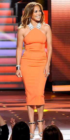 Jennifer Lopez American Idol Outfits