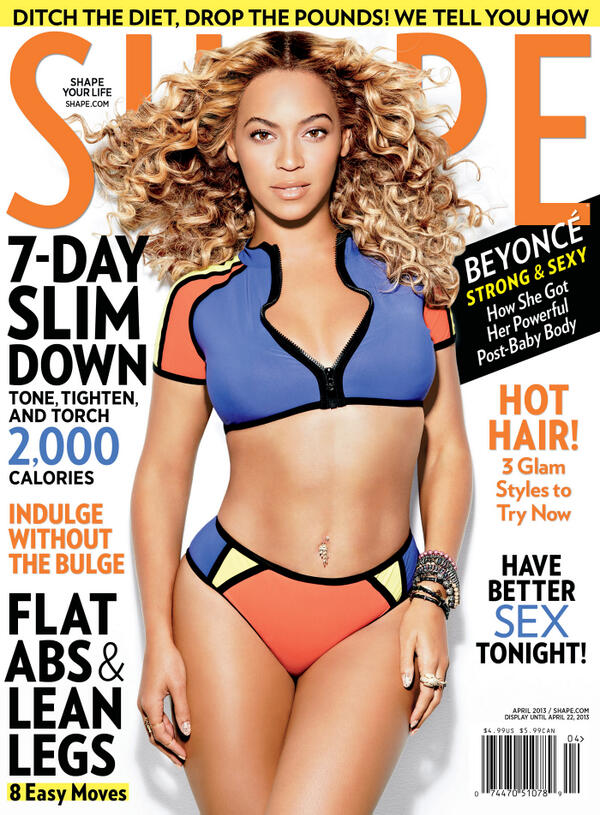 011 Beyonce for Shape Magazine April 2013