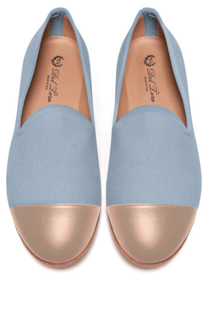 del-toro-fall-2013-prince-albert-grey-canvas-slipper-loafers-with-nude-cap-toes