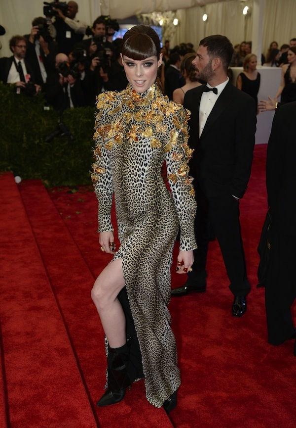coco rocha The 2013 Metropolitan Museum of Art Costume Institute Gala- Punk Chaos to Couture