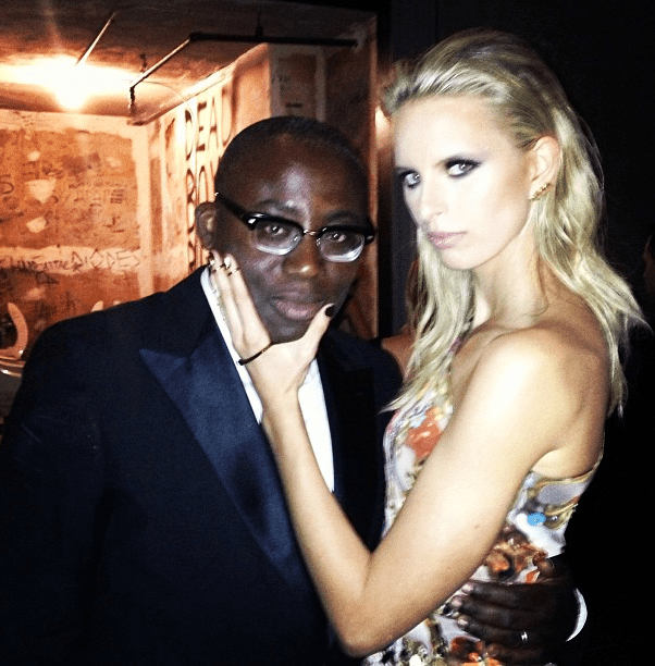karolina kurkova edward enninful met gala punk chaos to couture costume institute 2013 instagram