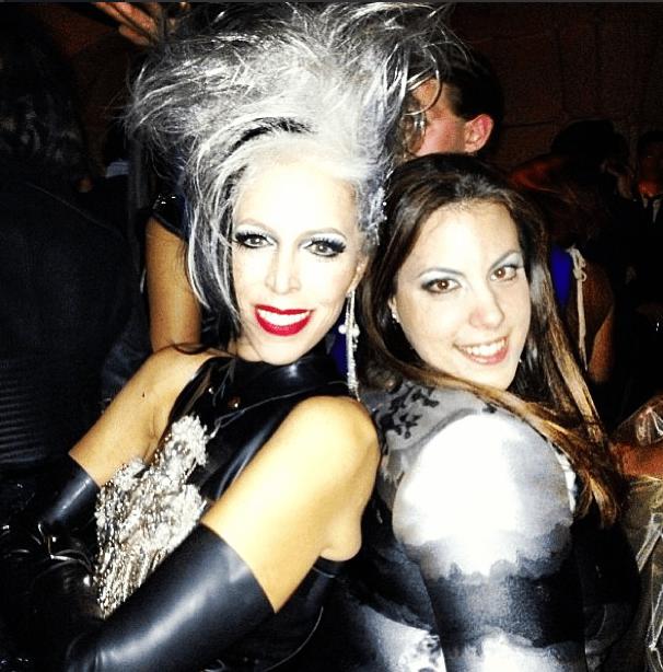 mary katrantzou linda fargo boom boom met gala punk chaos to couture 2013 costume institute
