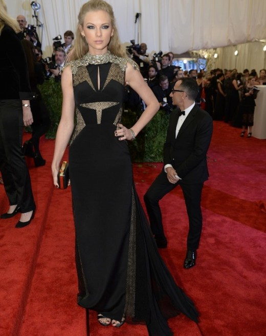 taylor swift The 2013 Metropolitan Museum of Art Costume Institute Gala- Punk Chaos to Couture