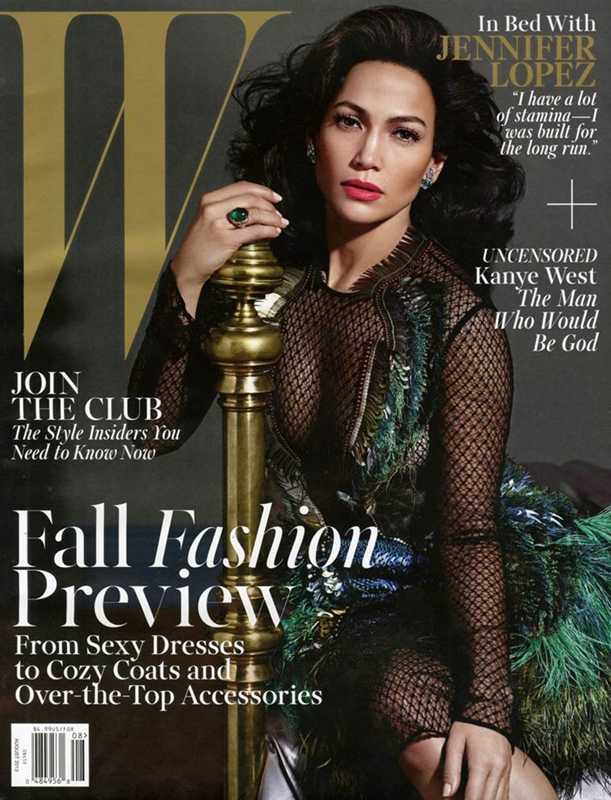 7  Jennifer Lopez by Mario Sorrenti for W Magazine