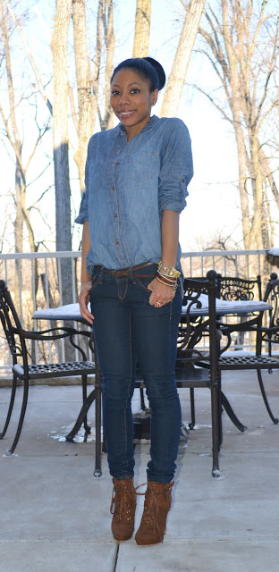 123  fashion bomb daily denim on denim trend fall 2013