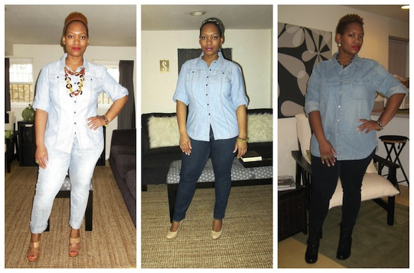 how do you wear it denim on denim fall 2013 trend fashion bomb daily 1