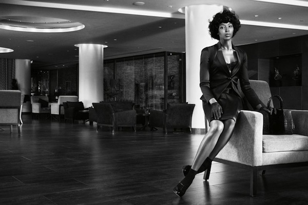 'Naomi Campbell- The First Lady of Fashion' by Willy Vanderperre for W November 2013