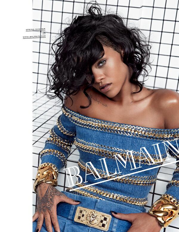 Rihanna-for-Balmain-Spring-2014