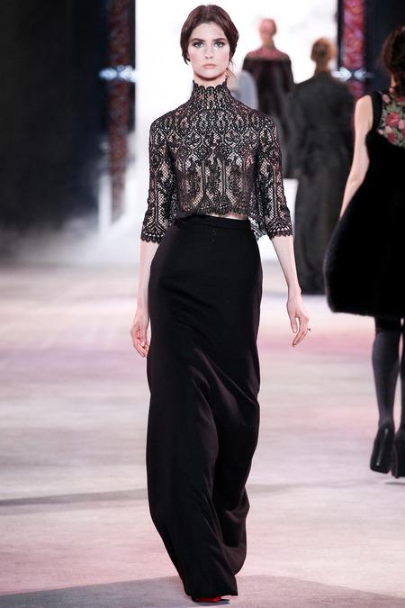 beyonce jealous video lace turtleneck top ulyana sergeenko fashion bomb daily best fashion blog
