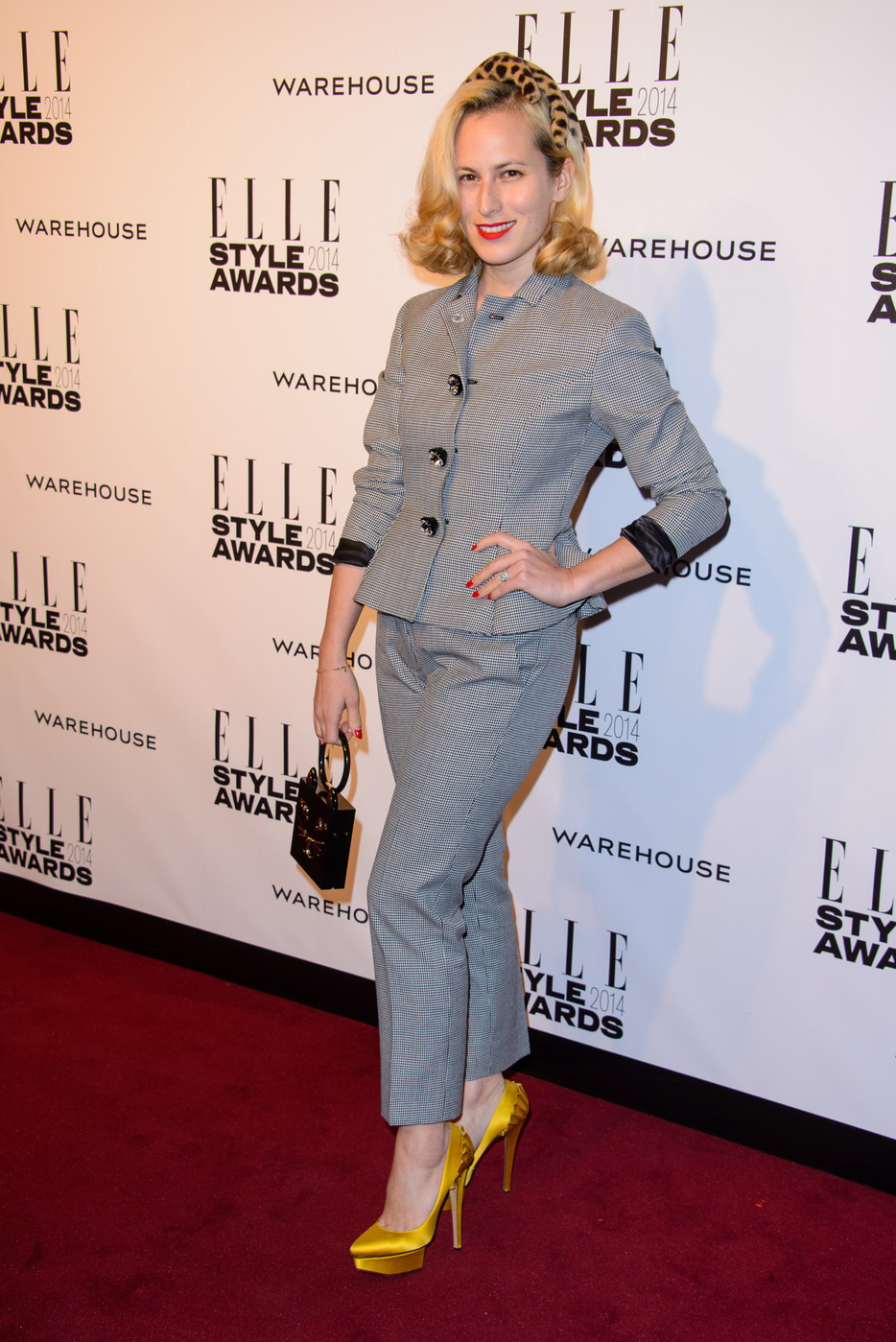 Charlotte Dellal attends  the Elle Style Awards 2014 at one Embankment in London