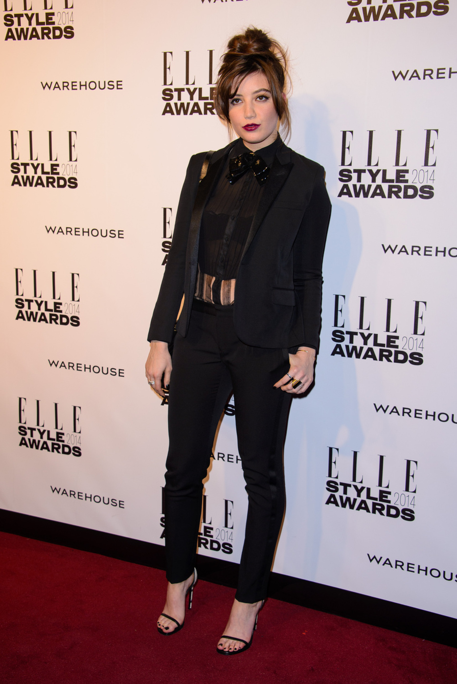 Daisy Lowe attends  the Elle Style Awards 2014 at one Embankment in London