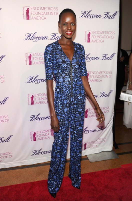 ajak-deng-endometriosis-foundation-america-ball-nanette-lepore-jumpsuit