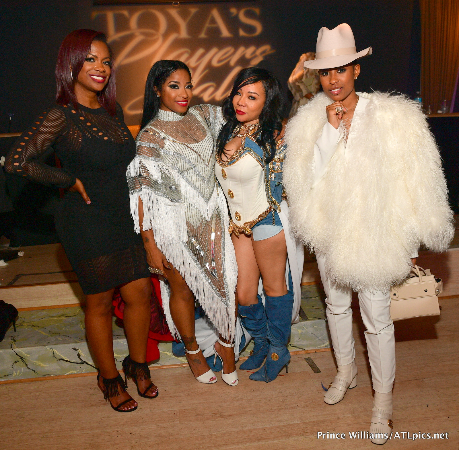 On The Scene Toya Wrights Players Ball Halloween Party