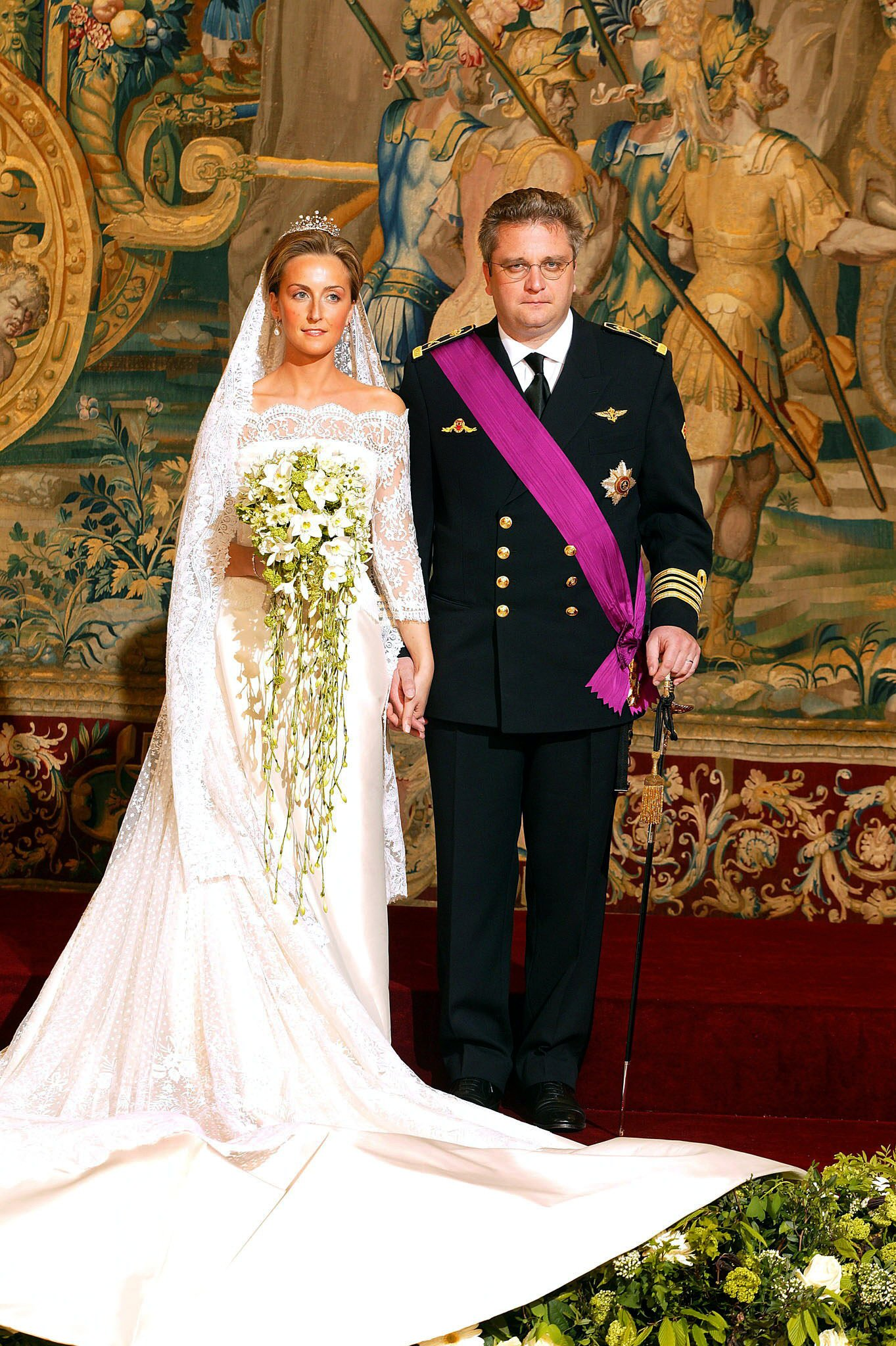 Royal Bride Prince Laurent of Belgium  Claire Coombs