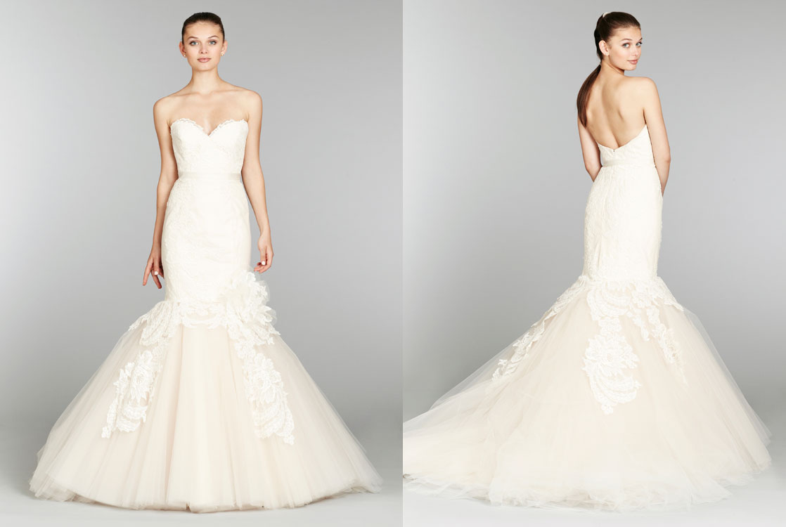 Lazaro-bridal-lace-mermaid-gown-strapless-sweetheart