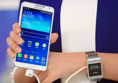 Samsung Galaxy Note 3 and smartwatch hit China