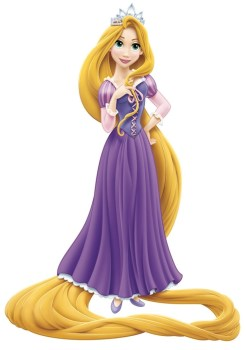 Rapunzel with Crown