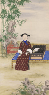 The_Portrait_of_the_Qing_Dynasty_Cixi_Imperial_Dowager_Empress_of_China_by_an_Imperial_Painter_2