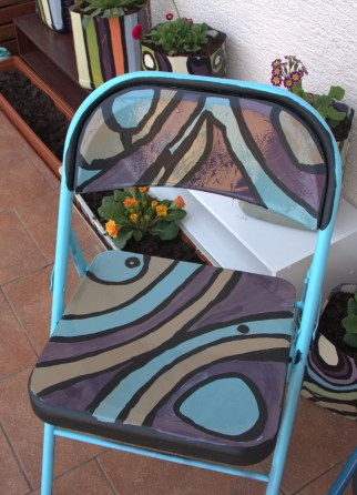 DIY Patio Chairs and Pots