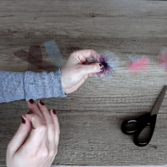 DIY Hair Accessories Ideas: How to Make Cute Hair Ties with Tulle
