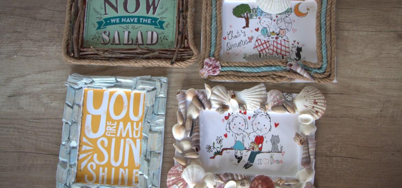 Beach Craft Ideas: DIY Picture Frame Decorating
