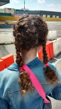 Look at my new hairstyle