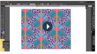 Visuals and Video of Online Surface Design (Textile ...