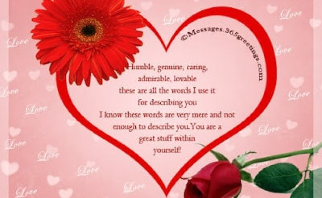 Happy Romantic Valentine S Day Loving You Message For