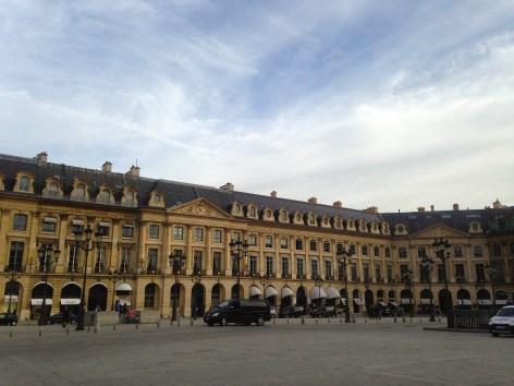 Can't get much more Parisian - Place Vendôme