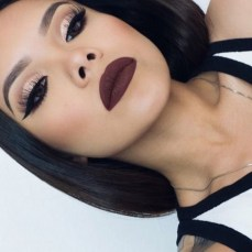 How to Rock the Dark Brown Lipstick Trend this Autumn?