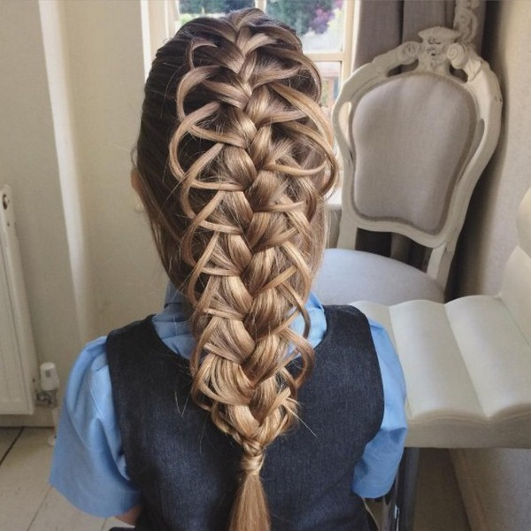 You Wont Believe The Braiding Skills Of This Talented Mom