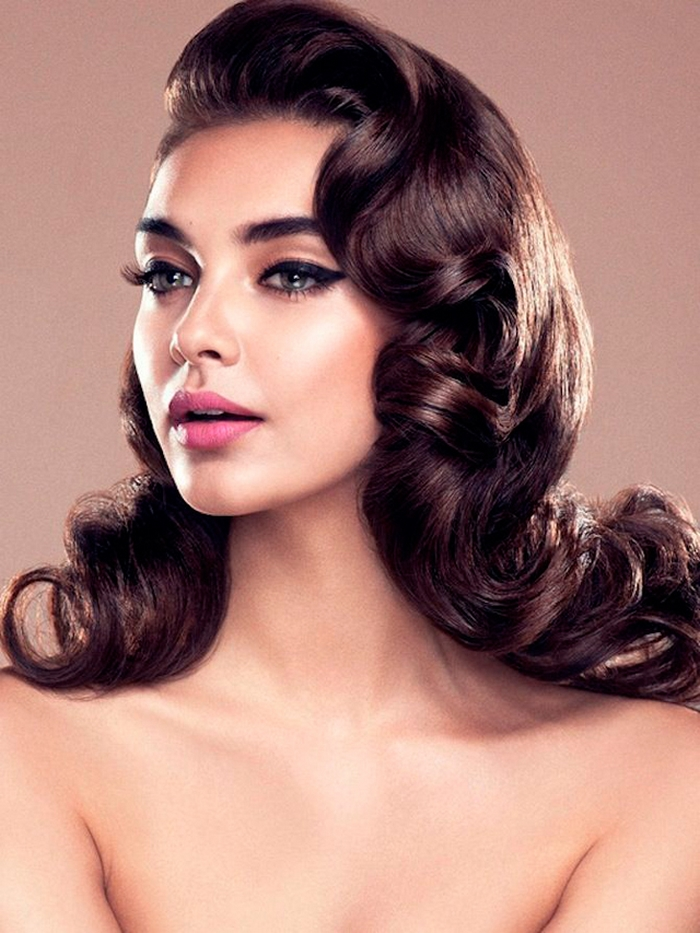 Dreamy Vintage Hairstyle Updos Inspired By Old Hollywood
